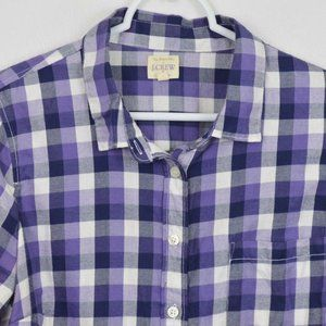 J Crew Perfect Fit Shirt Small Long Sleeve Button